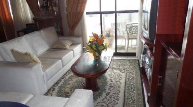 Apartamento com 2 dormitórios para alugar, 90 m² por R$ 3.000,00/mês - Vila Guilhermina -  - Foto 5
