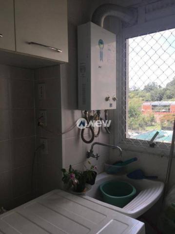 Apartamento com 3 dormitórios à venda, 71 m² por r$ 340.000 - mauá - novo hamburgo/rs - Foto 5