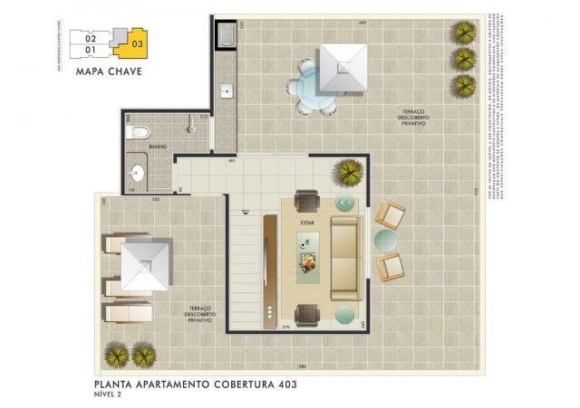 Apartamento com 3 dormitórios à venda, 112 m² por R$ 350.000 - Manacás - Belo Horizonte/MG - Foto 11