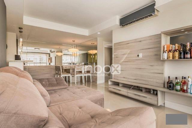 Magnífico apartamento com 2 dormitórios para alugar, 86 m² por R$ 4.800/mês - Três Figueir - Foto 2