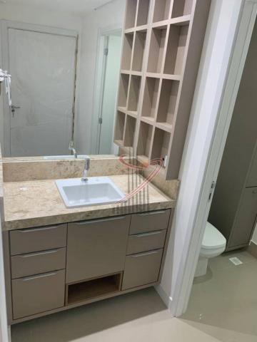 Apartamento com 1 dormitório para alugar, 50 m² por R$ 2.500,00/mês - Edifício Riverside - - Foto 14