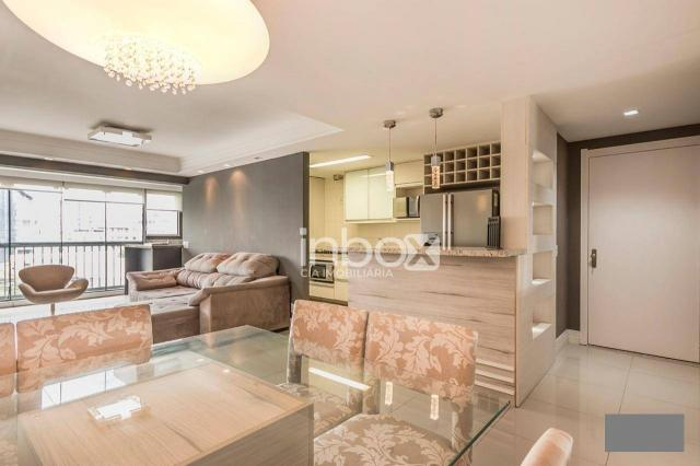 Magnífico apartamento com 2 dormitórios para alugar, 86 m² por R$ 4.800/mês - Três Figueir - Foto 8