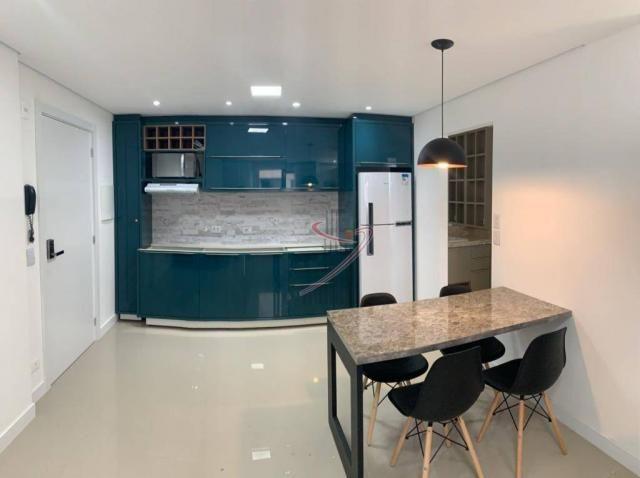 Apartamento com 1 dormitório para alugar, 50 m² por R$ 2.500,00/mês - Edifício Riverside - - Foto 9