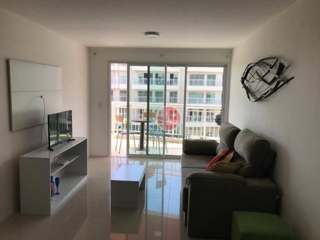 Apartamento com 3 dormitórios à venda, 87 m² por R$ 430.000,00 - Porto das Dunas - Eusébio - Foto 14