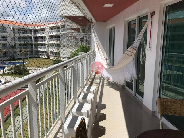 Apartamento com 3 dormitórios à venda, 87 m² por R$ 430.000,00 - Porto das Dunas - Eusébio - Foto 16