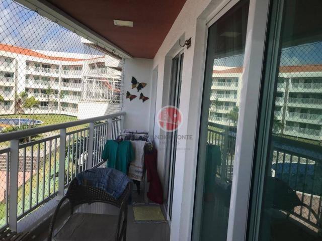 Apartamento com 3 dormitórios à venda, 87 m² por R$ 430.000,00 - Porto das Dunas - Eusébio - Foto 12