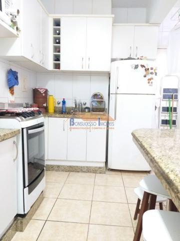 Apartamento à venda com 3 dormitórios em Ermelinda, Belo horizonte cod:42925 - Foto 3