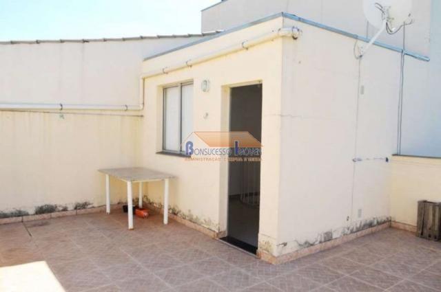 Cobertura à venda com 2 dormitórios em São francisco, Belo horizonte cod:43216 - Foto 2