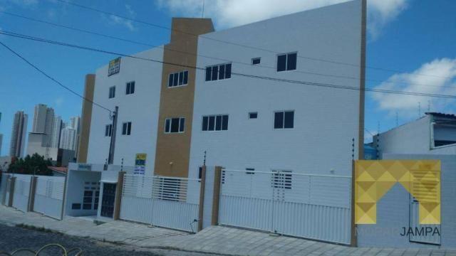 Apartamento com 2 Quartos à venda, 66 m² por R$ 178.000 - Castelo Branco - João Pessoa/PB