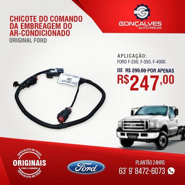 CHICOTE DO COMANDO DA EMBREAGEM ORIGINAL FORD