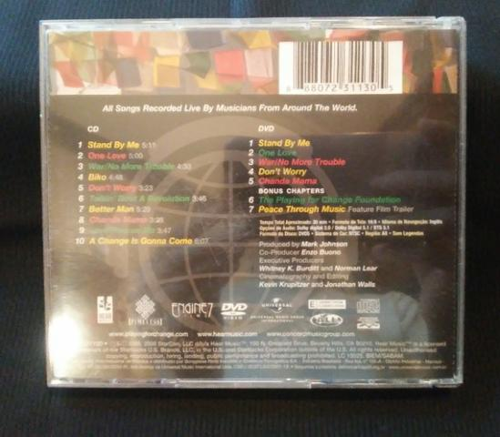 CD e DVD Playing For Change - Songs Around The World (Originais) - Foto 3