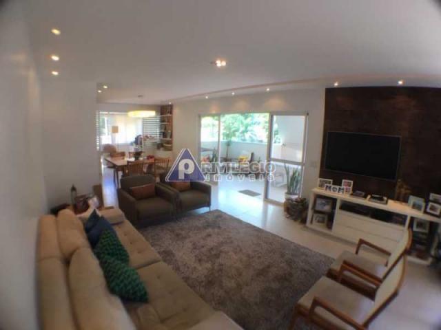 Apartamento à venda com 4 dormitórios em Cosme velho, Rio de janeiro cod:FLCO40015
