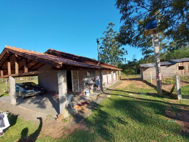 Velleda aluga sítio de 1 hectare, plano, com belíssima casa, confira! - Foto 12