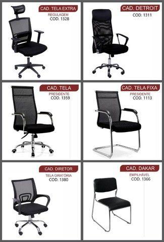 mesas, armários  de escritório madeira melhor preço de Goiânia  - Foto 3