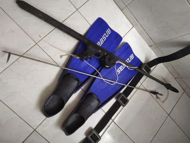 Vendo kit mergulho 450 reais oportunidade