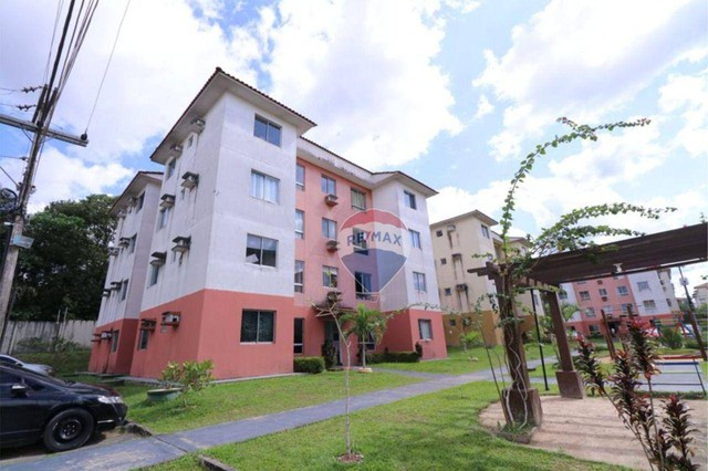 Apartamento com 3 dormitórios à venda, 62 m² por R$ 135.807 - Cond. Jasmim - Tarumã Manaus - Foto 3
