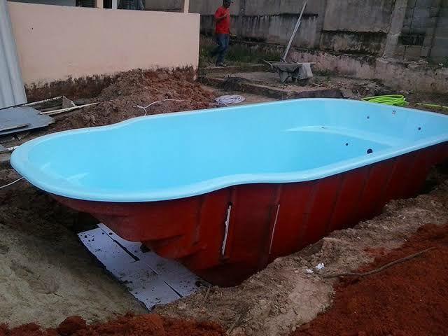 Instalamos piscina e Montamos Deck  - Foto 2