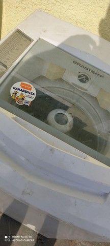 Máquina de lavar Brastemp 7 kilos em perfeito estado barata pra ir embora hoje - Foto 2