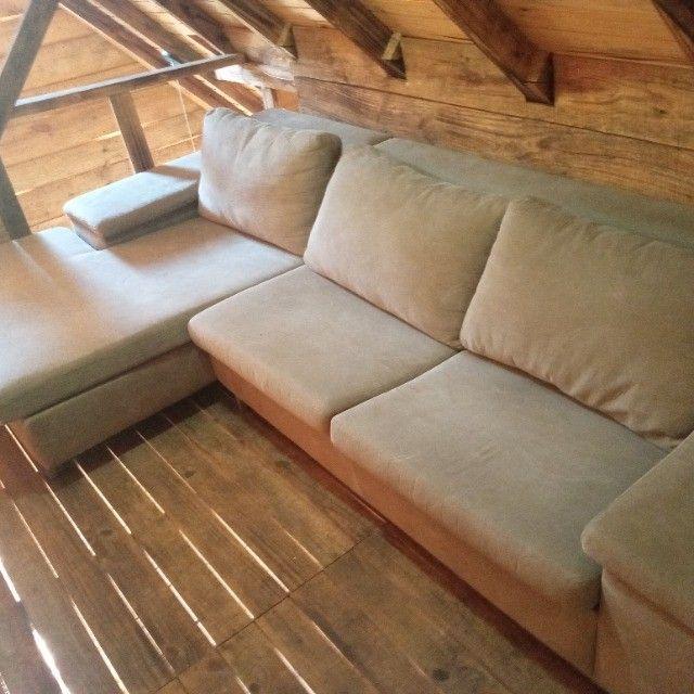 sofá - com pouco uso