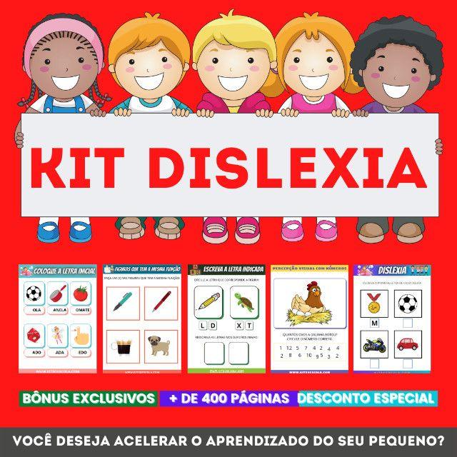 .:: Kit de Atividades ::. Kit Dislexia - Foto 6