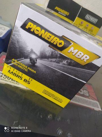 Bateria de moto nova com garantia 5amperes - Foto 2