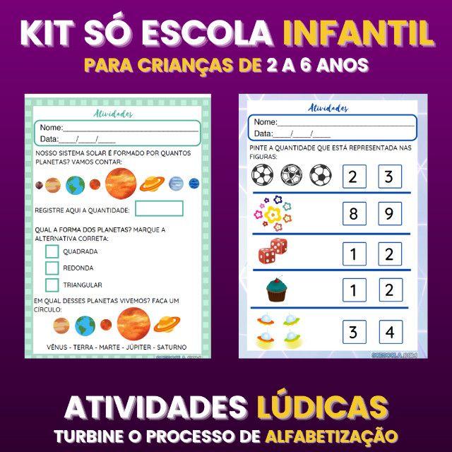 .:: Kit de Atividades ::. Kit Infantil - Foto 6