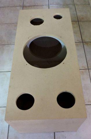 """Caixa de Som de 120litros para falantes de 12"""" ou 15"""" - Foto 3"""