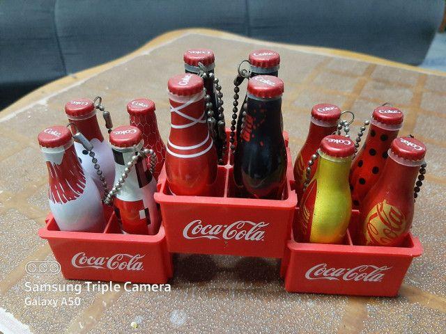 Mini garafinhas coca cola da galera - Foto 2