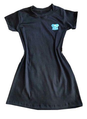 Kit 60 vestido infantil canelado fashion - Foto 3