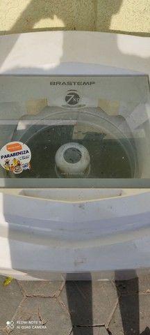Máquina de lavar Brastemp 7 kilos em perfeito estado barata pra ir embora hoje - Foto 3