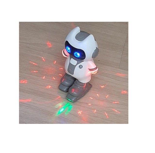 Smart Robot Robô Inteligente Musical Brinquedo Criança Luzes - Foto 3