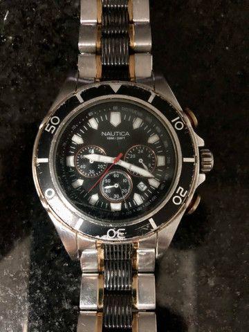 Relógio Original Náutica A45001 - Foto 2