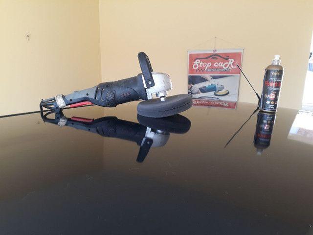 Revestimento e restauração de volantes em couro ecológico. - Foto 6