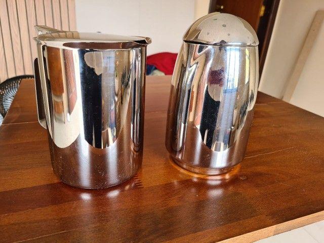 Kit bule para chá, café, leite e jarra para água  - Foto 3