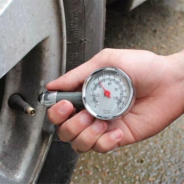 Medidor de Pressão de Pneus Para Carro/moto/bicicleta