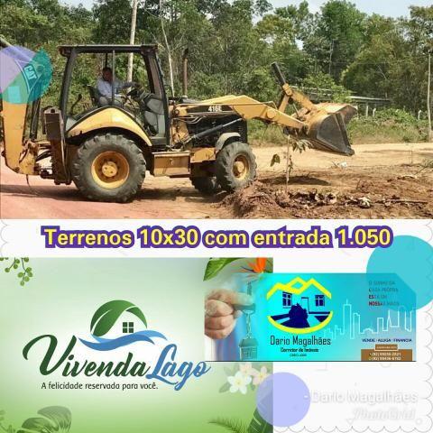 Promoção de Terrenos até domingo. ENTRADA 1.050
