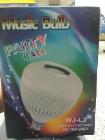 Luz de LED + música Bluetooth