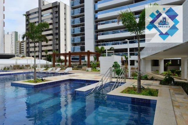 Apartamento alto padrão, 226m² com 4 suítes no Bairro do Meireles. - Foto 9