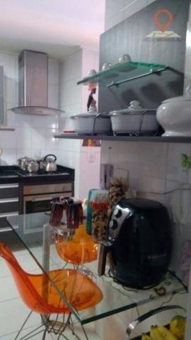 Apartamento com 2 dormitórios à venda, 110 m² por R$ 550.000 - Jatiúca - Maceió/AL - Foto 18