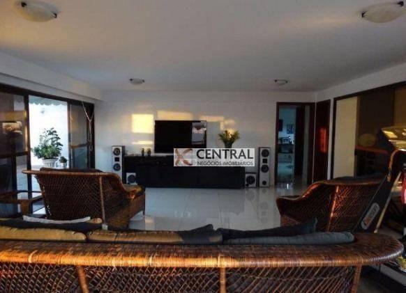 Cobertura com 5 dormitórios à venda, 792 m² por R$ 3.150.000,00 - Rio Vermelho - Salvador/ - Foto 4