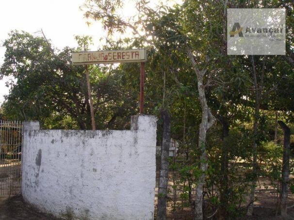 Chácara com 3 dormitórios à venda, 20000 m² por R$ 500.000,00 - Carne de Vaca - Goiana/PE