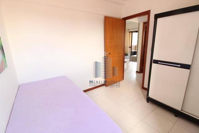 Apartamento com 2 dormitórios à venda, 65 m² por R$ 350.000 - Jatiúca - Maceió/AL - Foto 17