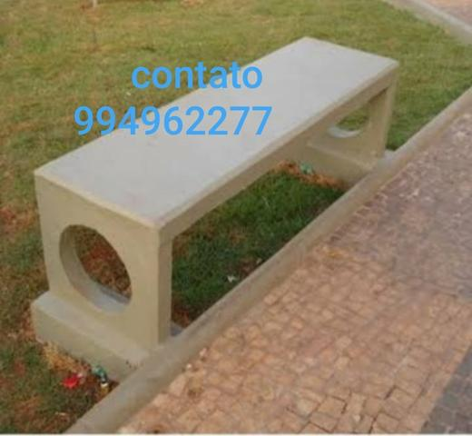 Fabricamos Bancos de concreto - Foto 2