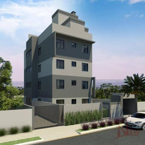 Apartamento com 03 quartos no Cidade Jardim, São José dos Pinhais - Foto 2