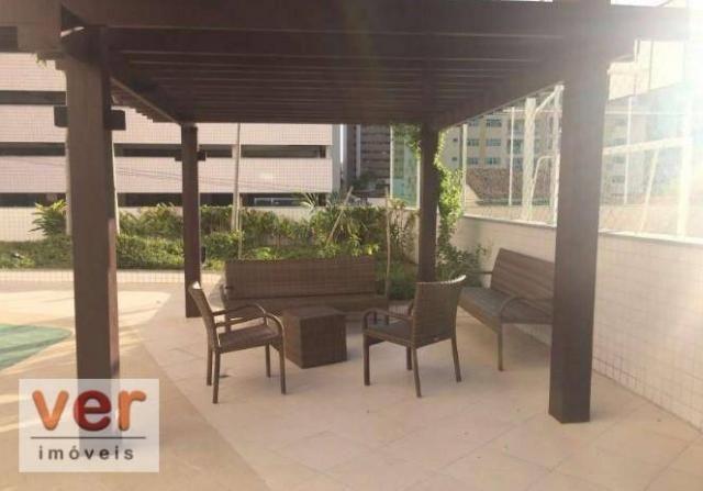 Apartamento com 3 dormitórios à venda, 91 m² por R$ 850.000,00 - Aldeota - Fortaleza/CE - Foto 10