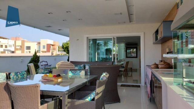 Casa no Alphaville Fortaleza com 4 dormitórios à venda, 310 m² por R$ 1.800.000 - Cararu - - Foto 17