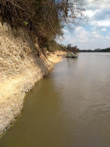 Vendo chácara na beira do rio ao lado do pesqueiro casa de telha - Foto 4
