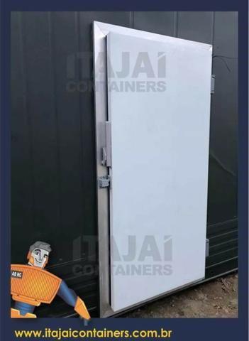 Promoção de camara fria container. 12m 6m 3m o tamanho que precisar - Foto 3