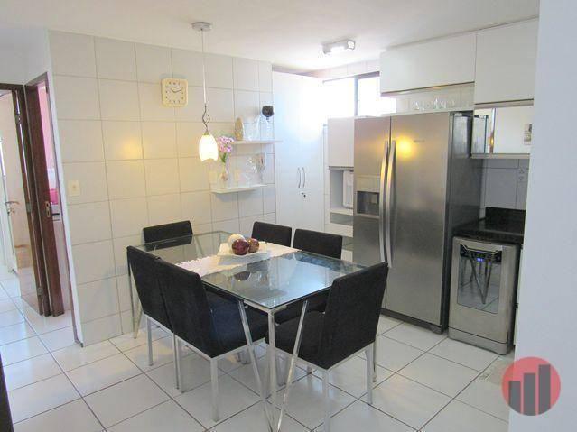 Apartamento com 3 dormitórios para alugar, 63 m² por R$ 1.900/mês - Mucuripe - Fortaleza/C - Foto 16
