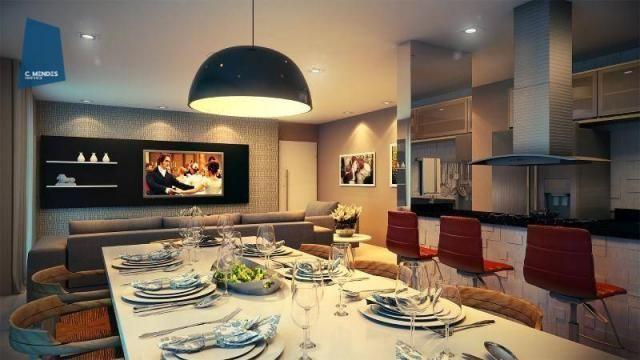 Apartamento à venda, 48 m² por R$ 443.096,80 - Fátima - Fortaleza/CE - Foto 8
